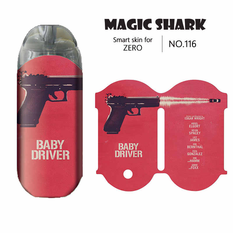 Magic Shark วัยรุ่น Mutant Ninja Turtle ของคุณชื่อ Clown ปีศาจ UK รถสติกเกอร์แฟชั่นสำหรับ Vaporesso Renova Zero E ซิการ์