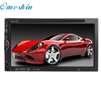 New Arrival 7 HD 2DIN Car Bluetooth Touchscreen CD DVD Player Stereo MP3 AUX FM Radio