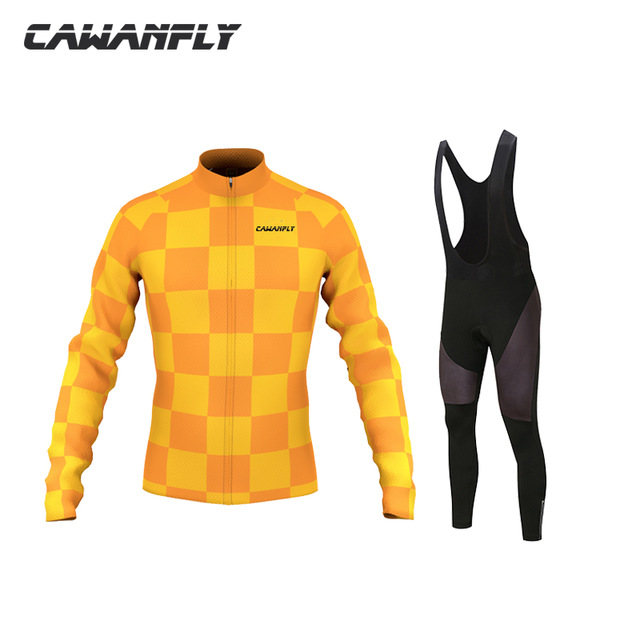 2018 Long Sleeve Hombre Ropa Ciclismo Cycling Set For Spring Autumn Male Bike Clothing Cycling Pants Breathable Riding Clothes