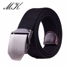 купить Automatic Buckle Canvas Belts for Man Tactical Military Canvas Men Belts for Jeans Casual All-match Male Straps по цене 455.27 рублей