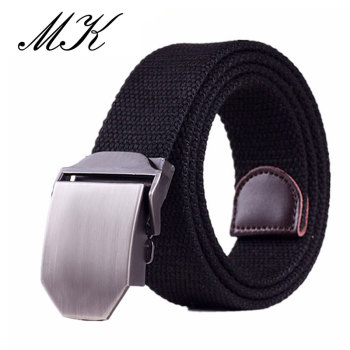 Automatic Buckle Canvas Belts for Man Tactical Military Canvas Men Belts for Jeans Casual All-match Male Straps buckle straps flap canvas backpack