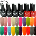 12 pcs Gel nail polish tools  ( color gel 10 bottle + base gel + top coat )120 Colors Available Lacquer For Uv Led lamp