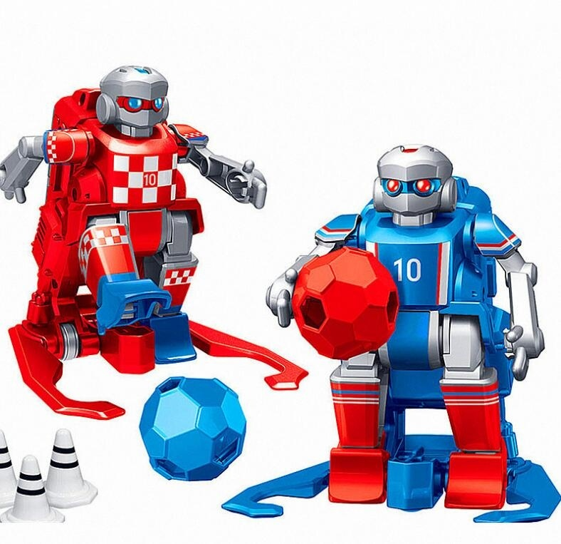Soccer Robot Smart RC Robots Cartoon Remote Control Toys Electric Football Robot Indoor Toys for Children birthday New Year Gift image