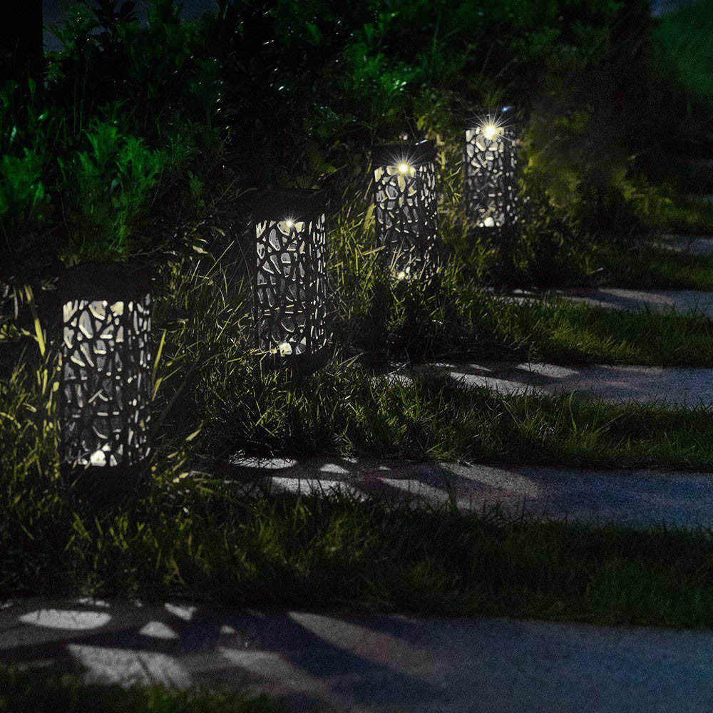Solar Led Cob Garden Lawn Lamp Light