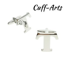 Cuffarts DIY Letters Cufflinks A-Z Alphabet Cuff links Personality  Mix&Match Choose 2 Different For Initials C10090