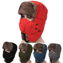 Winter Windproof Hiking Caps,Men Warm Thermal Fleece Balaclava Face Beanies,Ski Bike Motorcycle Neck Warmer Helmet Riding Hat недорго, оригинальная цена