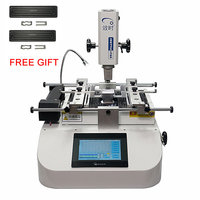 SP360C 2400W Bottom heater BGA Soldering infrared Rework Station machine With PLC control for repairing And 2pcs 600W Ceramic