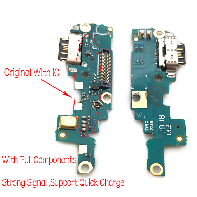 Replacement Part Type-C USB Charging Port For Nokia X6/ 6.1 Plus TA-1099/1103  Dock Connector Flex Cable Board Ribbon