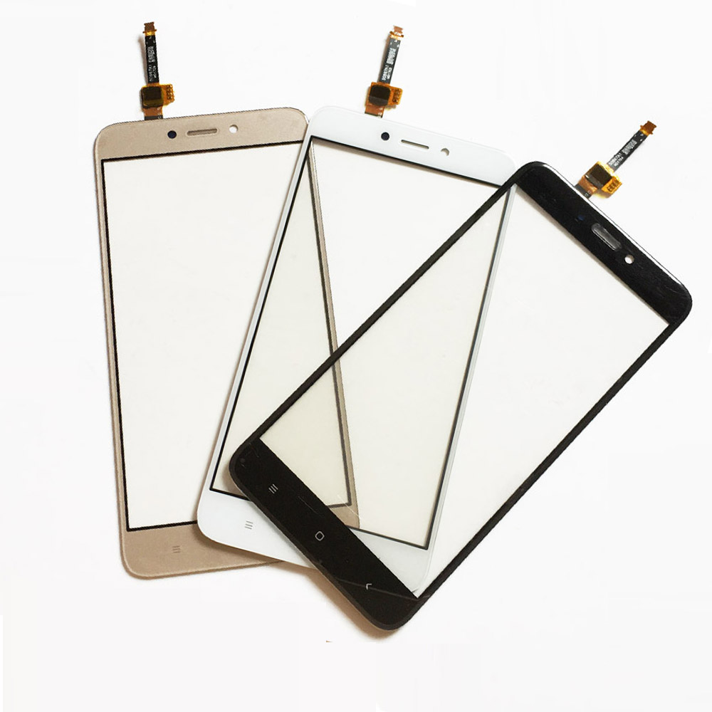 Mobile Phone Touch Panel Screen Glass Lens for Xiaomi Redmi 4X Touchscreen Sensor Touchpad Front Glass Lens Digitizer