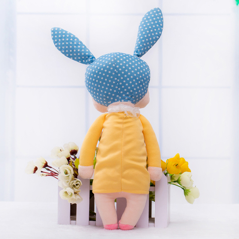 Cute Metoo Angela Rabbit Dolls Cartoon Animal Design Stuffed Babies Plush Doll for Kids Birthday Christmas Gift Children Toy Multan