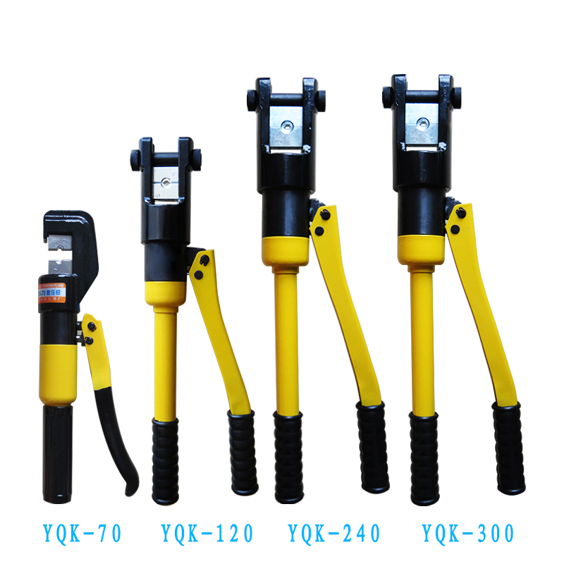 manual hydraulic crimping tool YQK-240 aluminium copper terminal crimper 240mm2 electrician multifunction crimping pliers