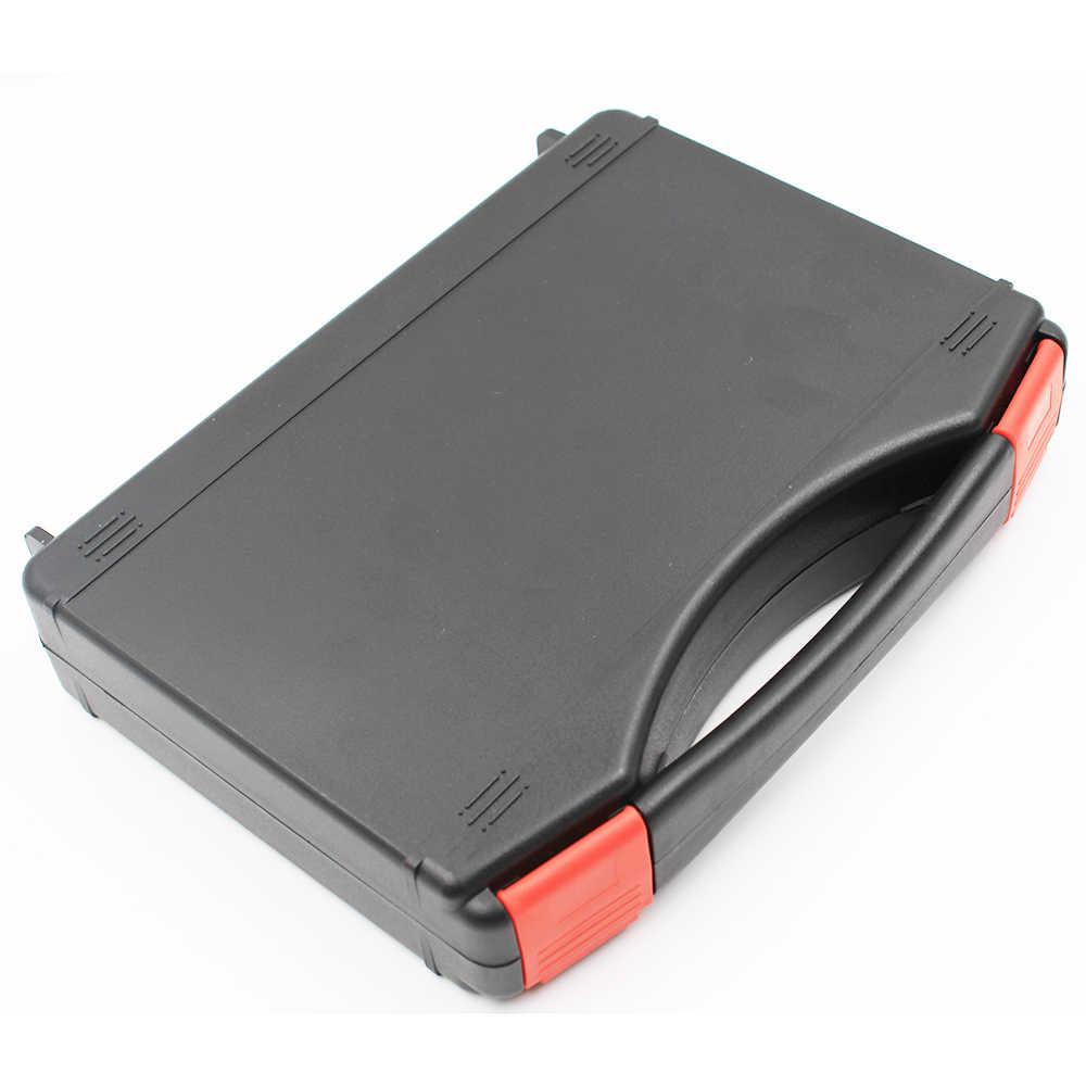 Eu 미국 플러그 60 w 220 v 110 v 조정 가능한 온도 전기 납땜 인두 키트 철 팁 빨판 스탠드 족집게 솔더 와이어 박스
