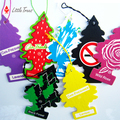 High Promotion: 2pcs/lot Little Trees Car Air Freshener Car Pendant 42 kinds of flavor for choice Suitable for many occasions