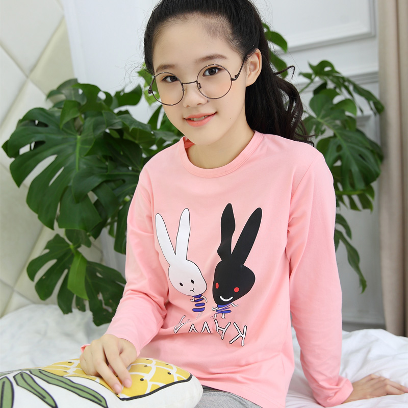 Baby Girl Clothes Set For Autumn Winter Wear 2018 Kids Teens Long Sleeve Cartoon Shirt + Leggings Wpcs Children Clothing Teenage