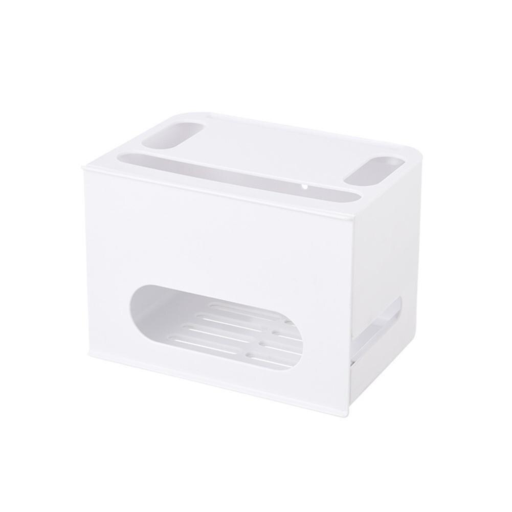 Boîte de stockage de routeur de Wifi de Type de tiroir de Double couche pour le câble de conseil de fil organisent - 4