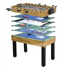Бильярдный стол набор 12 в 1 Функция Футбол Настольный теннис Хоккей шахматы покер Боулинг игральные кости Крытый игровой инструмент SUM-4524-12