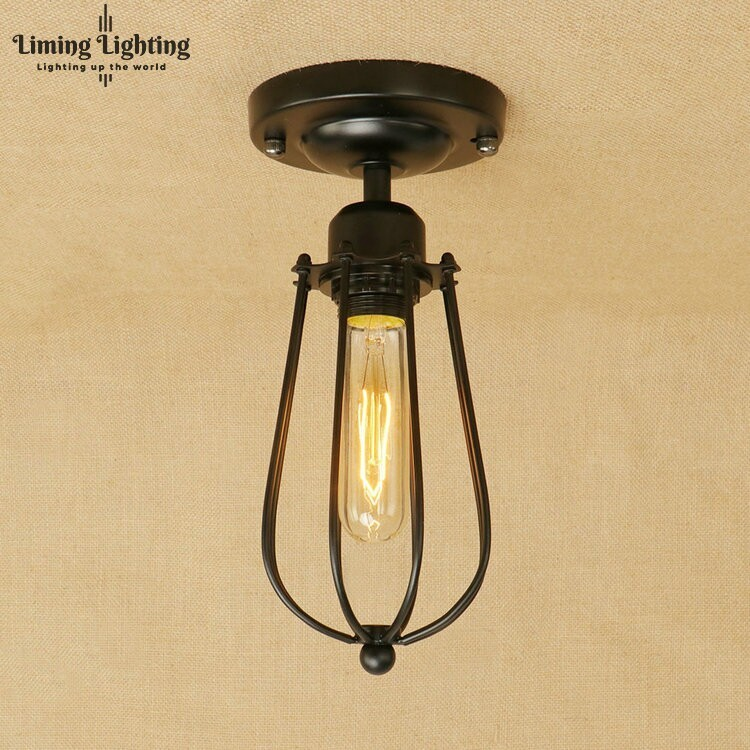 Retro Vintage Industrial Lamp Covers Pendant Bulb Light
