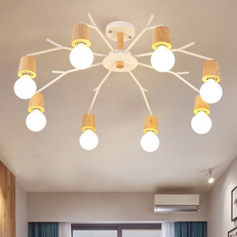 Northern Europe Postmodern Creative Individuality Concise Pendant Lamp Restaurant Bedroom Parlor Decoration Lamp Free Shipping northern individuality creative edison industrial e27 spider lamp coffee house pendant lights free shipping ysl1823