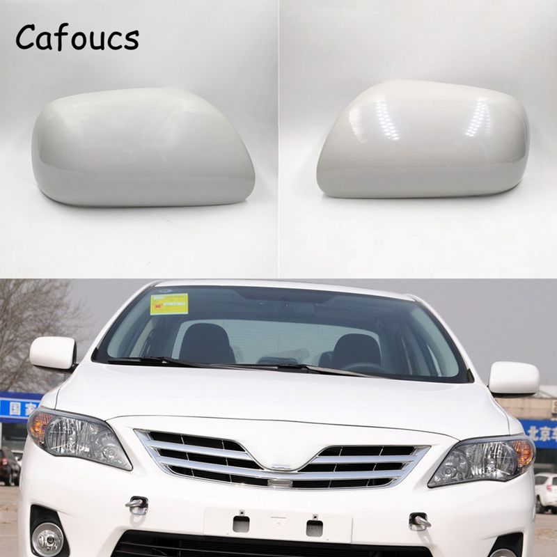 Cafoucs For Toyota corolla 2007-2013 Car Rear View Mirror Cover 87945-02910 87915-02910