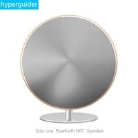 Bezprzewodowy Głośnik Niskotonowy hyperguider Solo Jeden Dotykowy Bluetooth 4.0 NFC Pełny Zakres 2.0 Kanałowy Powierzchni AUX Home Audio dla telefonu