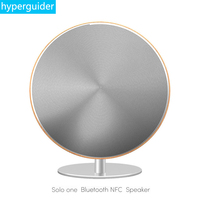 hyperguider Wireless Speaker Subwoofer Solo One Bluetooth 4.0 NFC Full Range 2.0 Channel Touch Surface AUX Home Audio for phone
