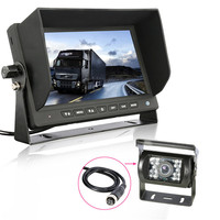 New 7 TFT LCD Color HD Car Screen Display Monitor HD CCD Car Reversing Camera For