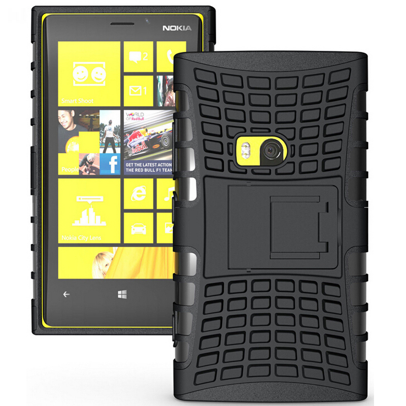 san francisco 7bc21 9101a Rugged Armor Case For Nokia Lumia 920 Case TPU & PC Dual Cover Protective  Phone Case For Nokia 920 Lumia 920 Case Coque Funda-in Fitted Cases from ...