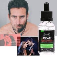 New Pure Natural Beard Growth Oil 40ML Men Liquid Beard Growth Repair Fast Enhance Facial Whiskers Nutrition Moustache For Men Health & Beauty