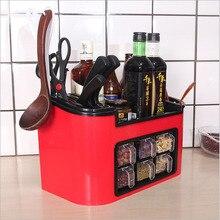 Kitchen Plastic Storage Organizer
