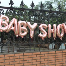 Baby shower rose gold foil balloon banner Its a boy girl oh baby gender reveal ITS TWINS bunting decoration photo prop