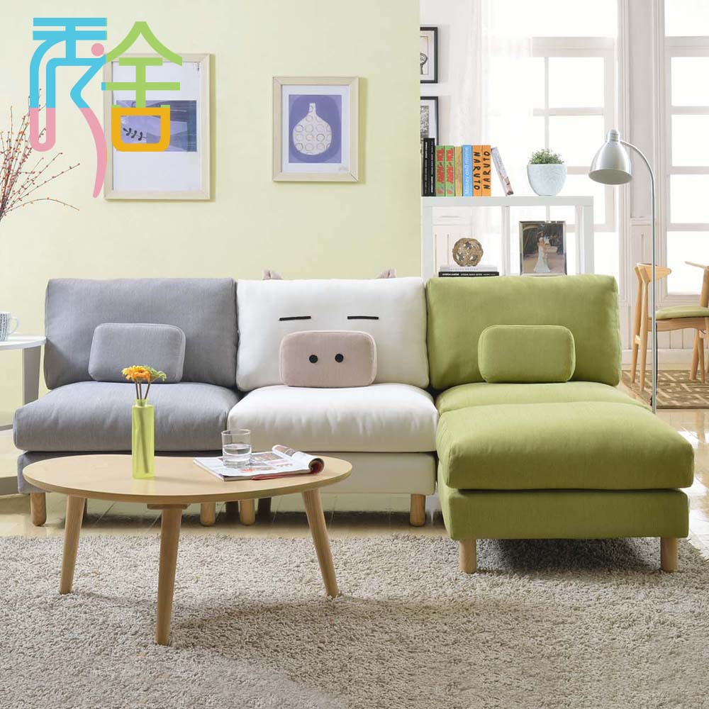 Little Couch For Bedroom Us 3998 Show Homes Sofa Korean Small Apartment Around The Corner Of The Living Room Furniture Ikea Lazy Little Couch L Combination In Office Sofas