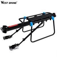 WEST BIKING Bicycle Racks Large Capacity Aluminum Alloy Bicycle Seat Post Luggage Carrier Rear Rack Shelf MTB Bike Stand Racks