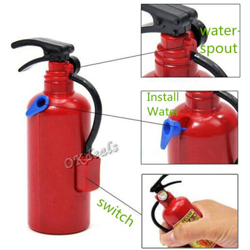 Fireman Backpack Extinguisher Water Spraying Toys Firefighter Water Sprayer Gun Outdoor Water Beach Toys For Kids Summer Gift