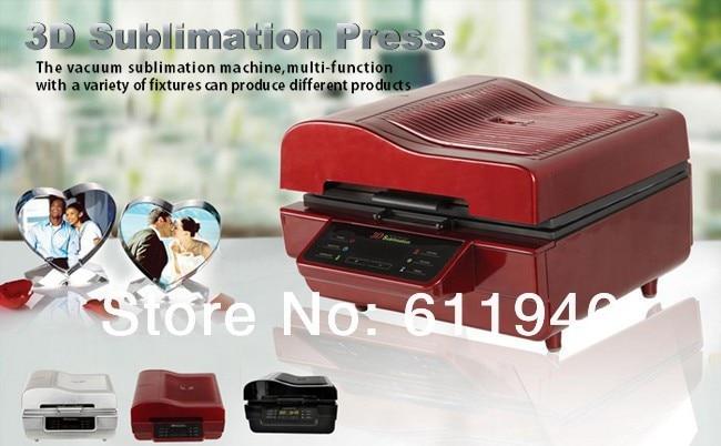 L3pc 3D Multifunctional Sublimation Heat Press Machine for Mug Cup Phone Case 3d Vacuum Heat Transfer Machine