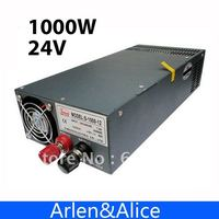 1000W 24V Single Output Switching Power Supply For LED Strip Light AC To DC
