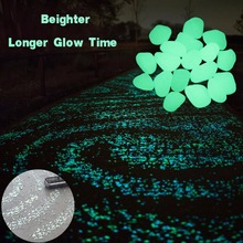 Garden Decor Pebble Luminous Glow Stones 200 Pcs/Pack