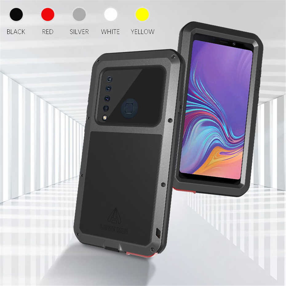Waterproof Metal Case For Samsung Galaxy A8 A9 A6 Plus 2018 A9S A8S Powerful Shockproof Phone Cover For Samsung A8 A6 2018 Case