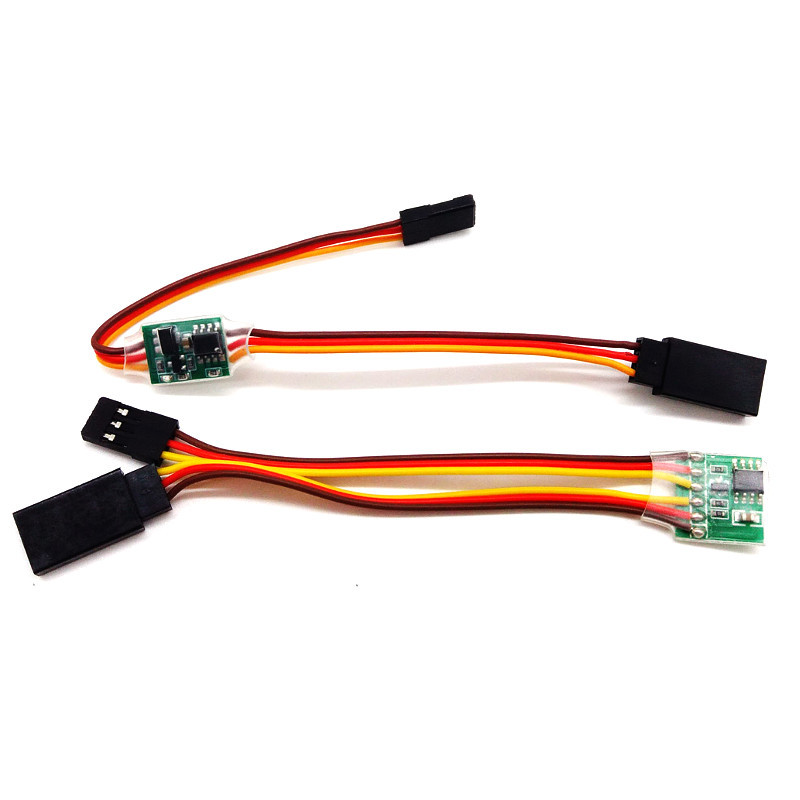 Servo Inverter Servo Reverse Support High Pressure Servo 3V-24V 5-6V For RC Servo SG90 MG90S 9g Servo 15kg 20kg Servo