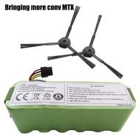Battery for Kitfort KT504 Haier T322 T321 T320 Panda X500 X580 X600 Ecovacs Mirror CR120 Dibea Robotic Vacuum Cleaner 3500mAh