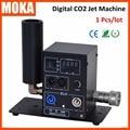 Special FX Цифровой экран CO2 Крио Jet DMX Холодный Туман системы Дым Машины 200 Вт CO2 Пушки Пушки с 6 м шланга jet