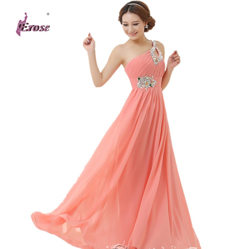 floor length chiffon long evening dress gown 2016 long With formal long dresses for weddings