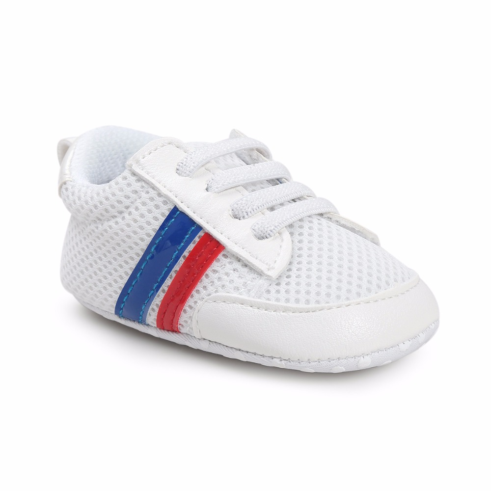 New Romirus hot sale Infant sport sneakers Baby Boy Soft Sole PU Leather First Walkers Crib non-slip baby Branded Shoes