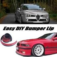 Bumper Lip Deflector Lips For Alfa Romeo 159 AR 2005 2015 Front Spoiler Skirt For TOPGEAR