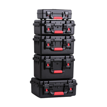 Outdoor Shockproof Waterproof Boxes Protective Safety Case Plastic Tool Box Dry Box Safety Equipment Tool Storage with Sponge(China)