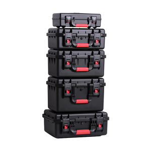 Outdoor Shockproof Waterproof Boxes Protective Safety Case Plastic Tool Box Dry Box Safety Equipment Tool Storage with Sponge