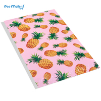 100pcs 15x23cm 6x9 Inch Pineapple Pink Pattern Poly Mailers Self Seal Plastic Envelope Bags