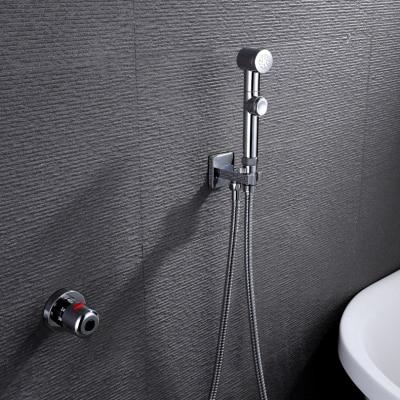 Термостатический ручной Туалет биде кран гигиены Личная Чистка Shattaf опрыскиватель душ комплект роскошный ванная душевая головка - Цвет: A701D