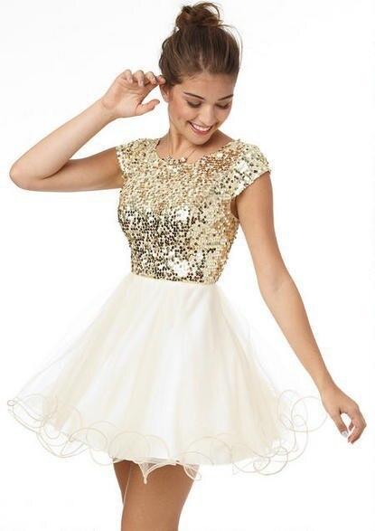 Obligatorisch Neue Ankunft Kurze Halter A-linie Homecoming Kleider Mit Perlen Kristall Prom Graduation Kleid Weddings & Events