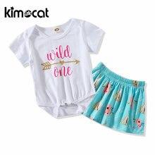 Kimocat одежда для маленьких девочек детский хлопковый треугольный