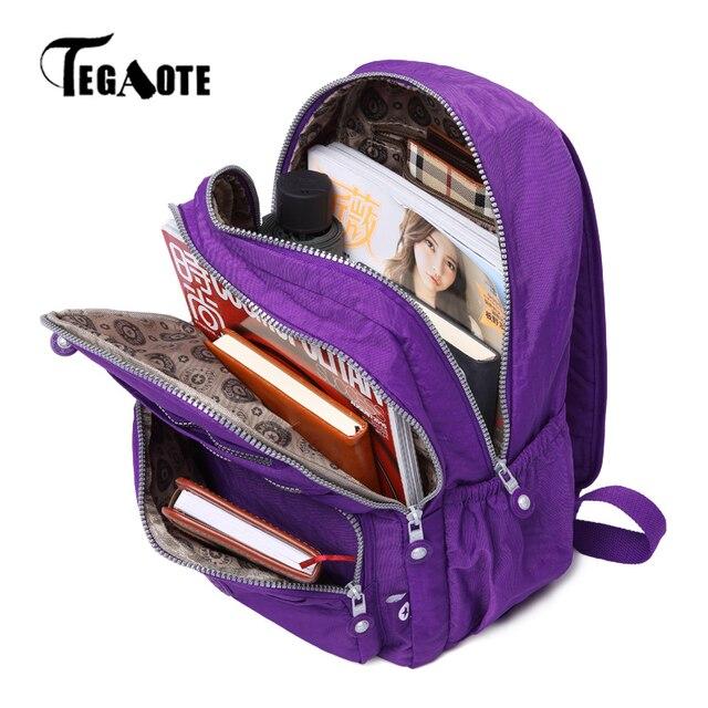 dda428326b TEGAOTE homme sac à dos école pour adolescent Mochila Masculina voyage sac  à dos femmes sac